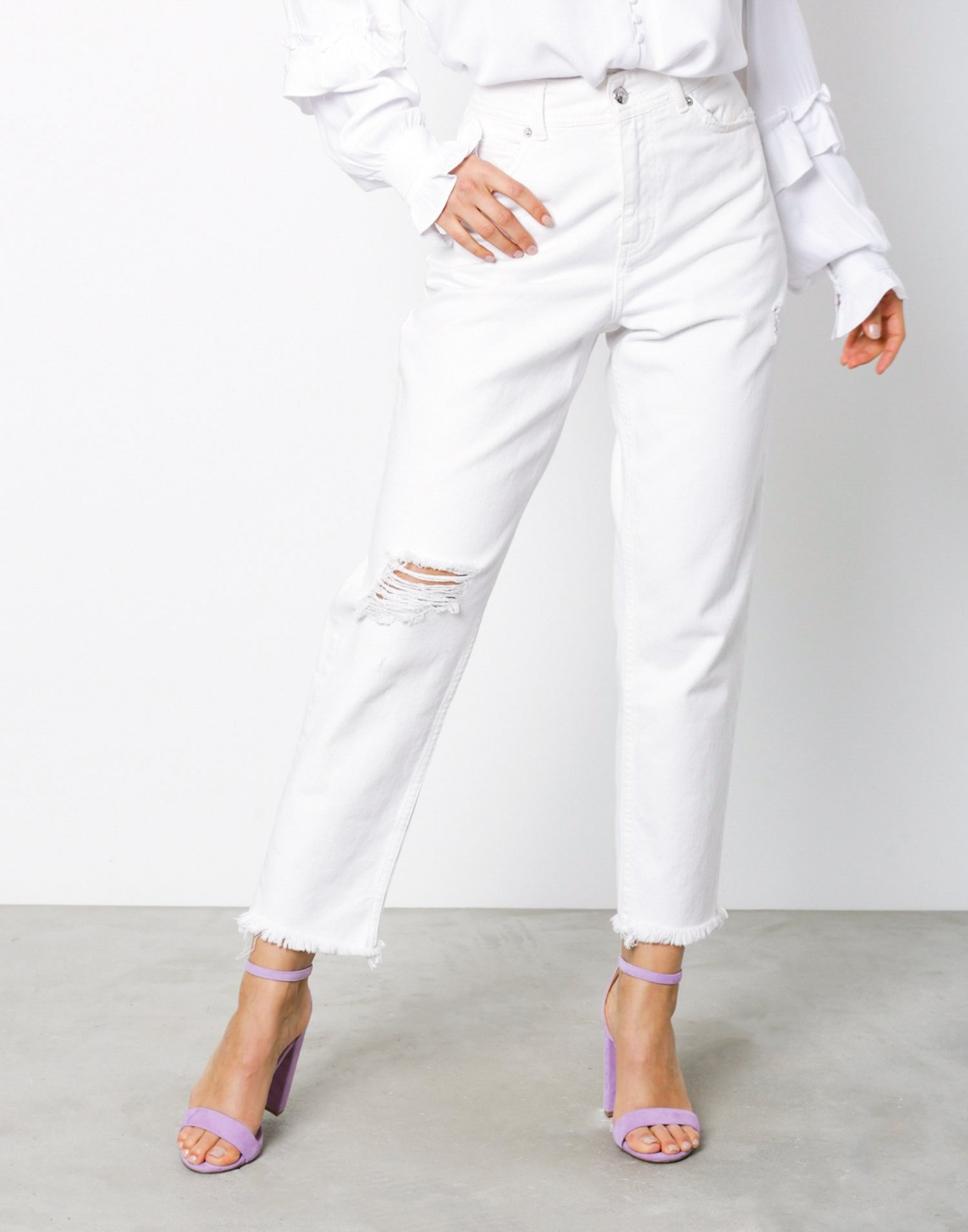 Lucia Relaxed Fit Jeans by Norr