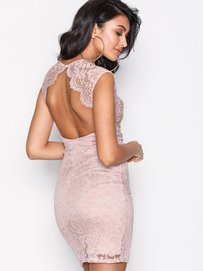 84f303f24c96 Shoppa Open Back Lace Dress - Online Hos Nelly.com