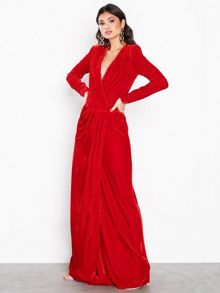 Low Waist Velvet Gown køb festkjole