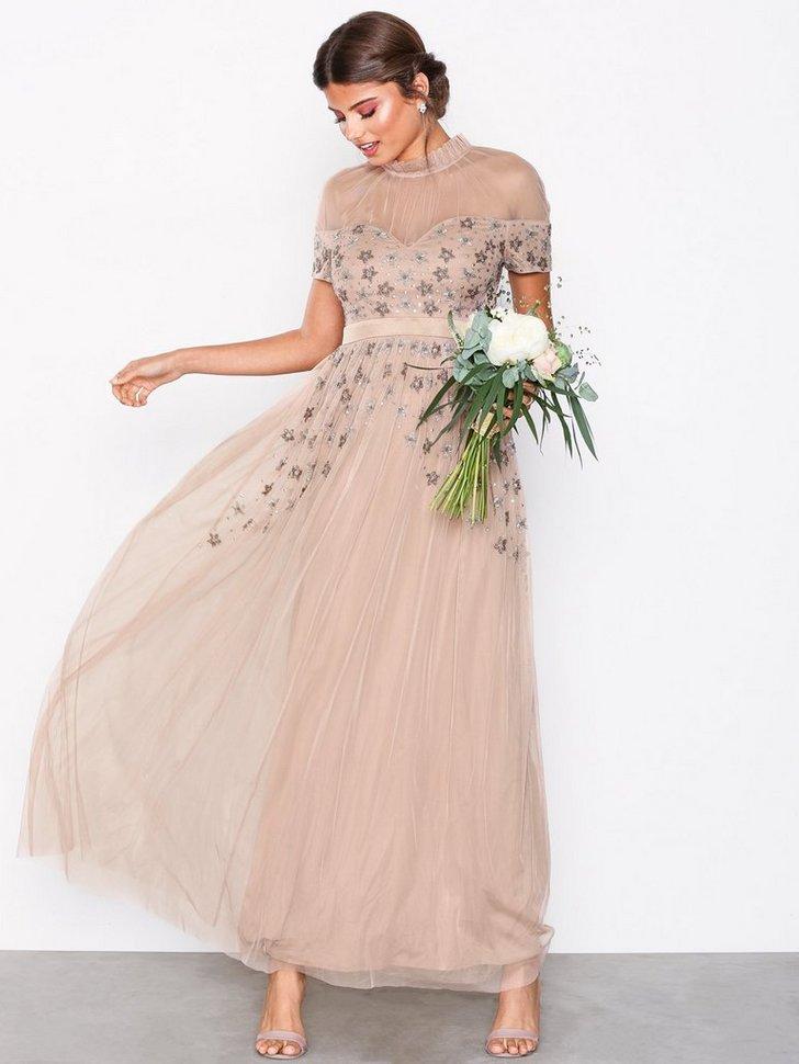 Embellished Maxi Dress køb festkjole