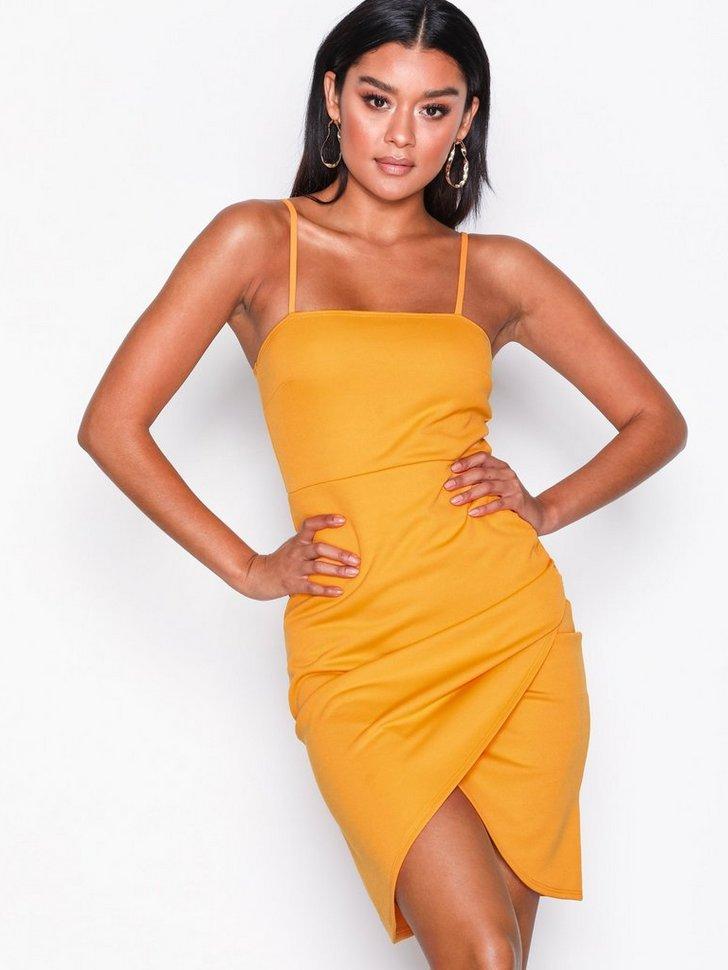 Cocktailkjole festkjole Wrap Skirt Dress festtøj