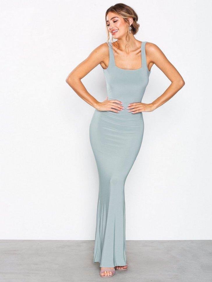 Ruched Back V Gown køb festkjole