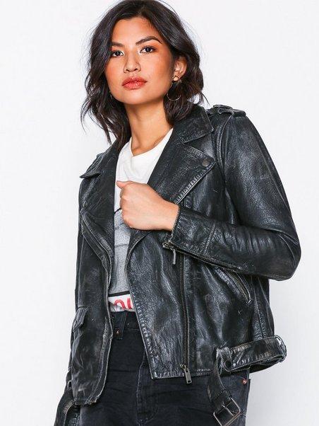 Unhinged Leather Jacket