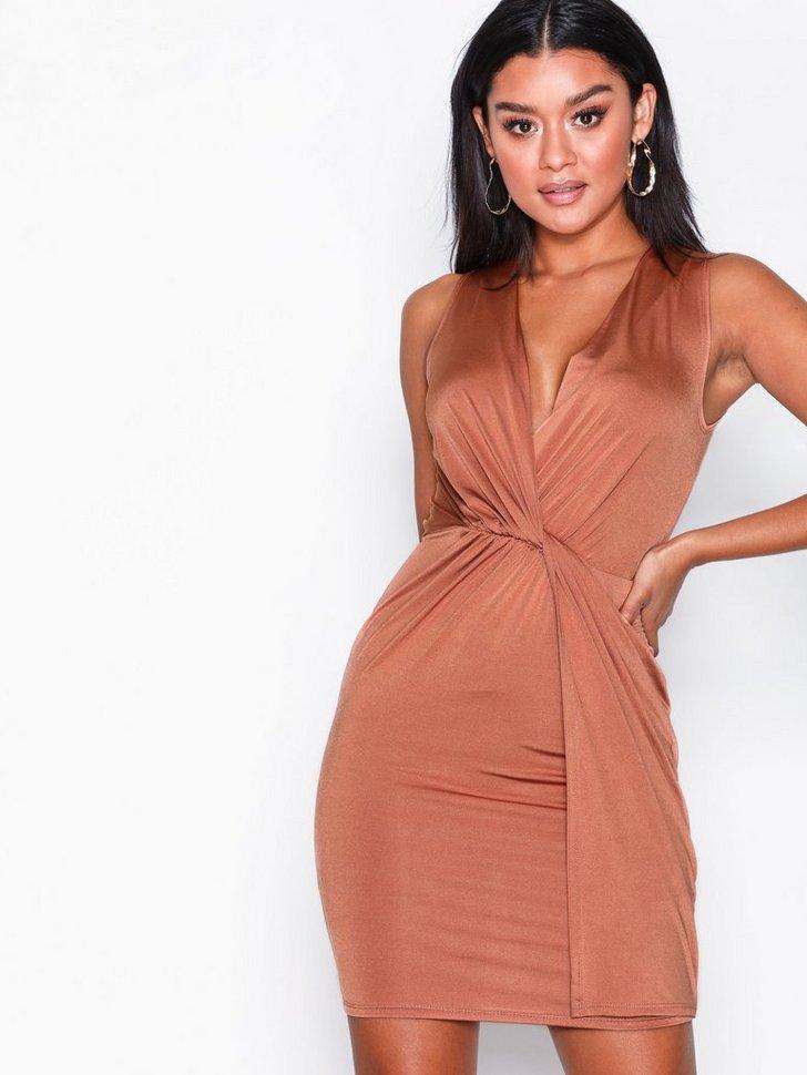 Twist Front Dress køb festkjole