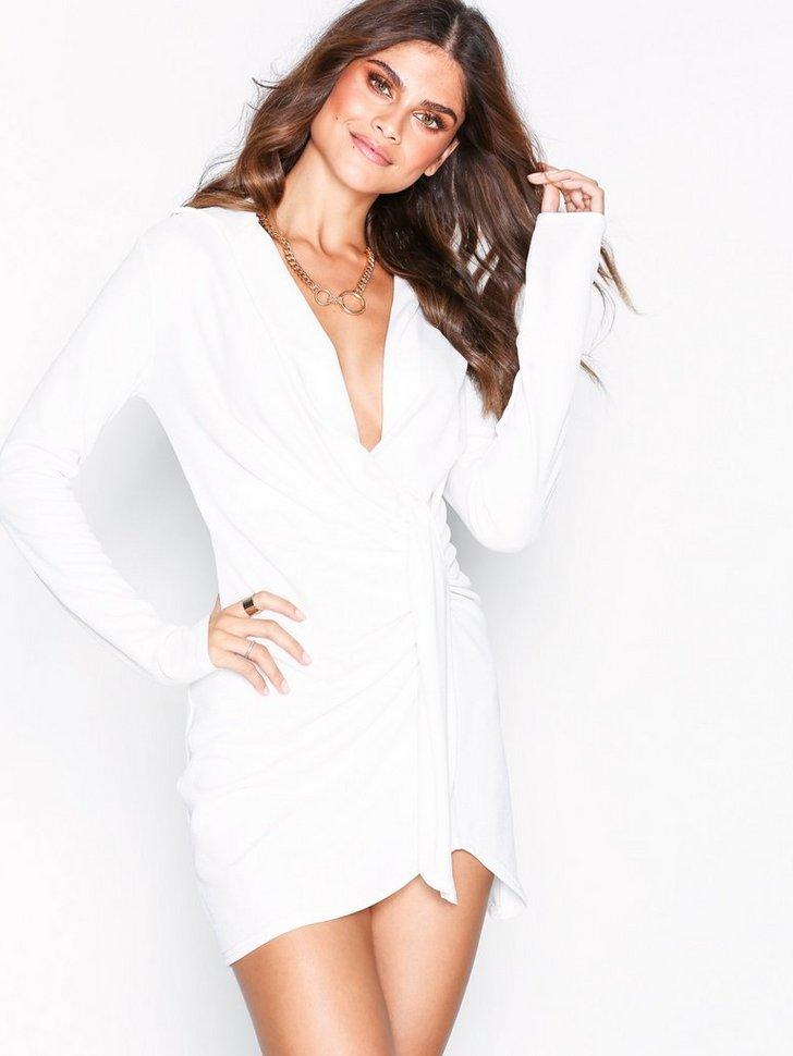 Oversize Plunge Dress køb festkjole