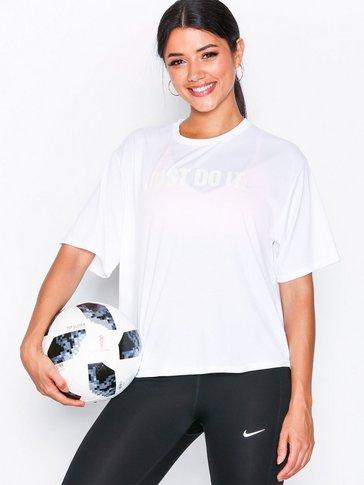 Nike - W NK DRY TOP SS MESH JDI