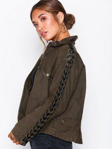 Free People - Faye Military Jacket