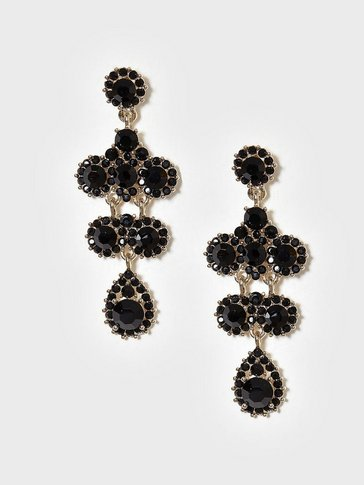 Lily and Rose - Miss Kate Earrings jetjet