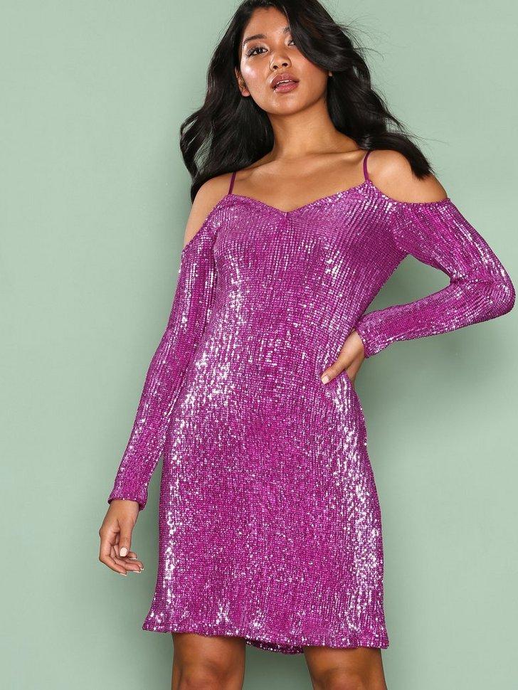 Sparkle V Shape Dress køb festkjole