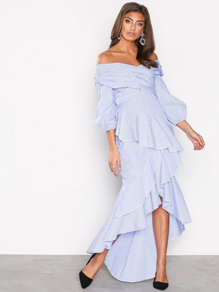 Gallakjole festkjole Frill High Low Dress festtøj