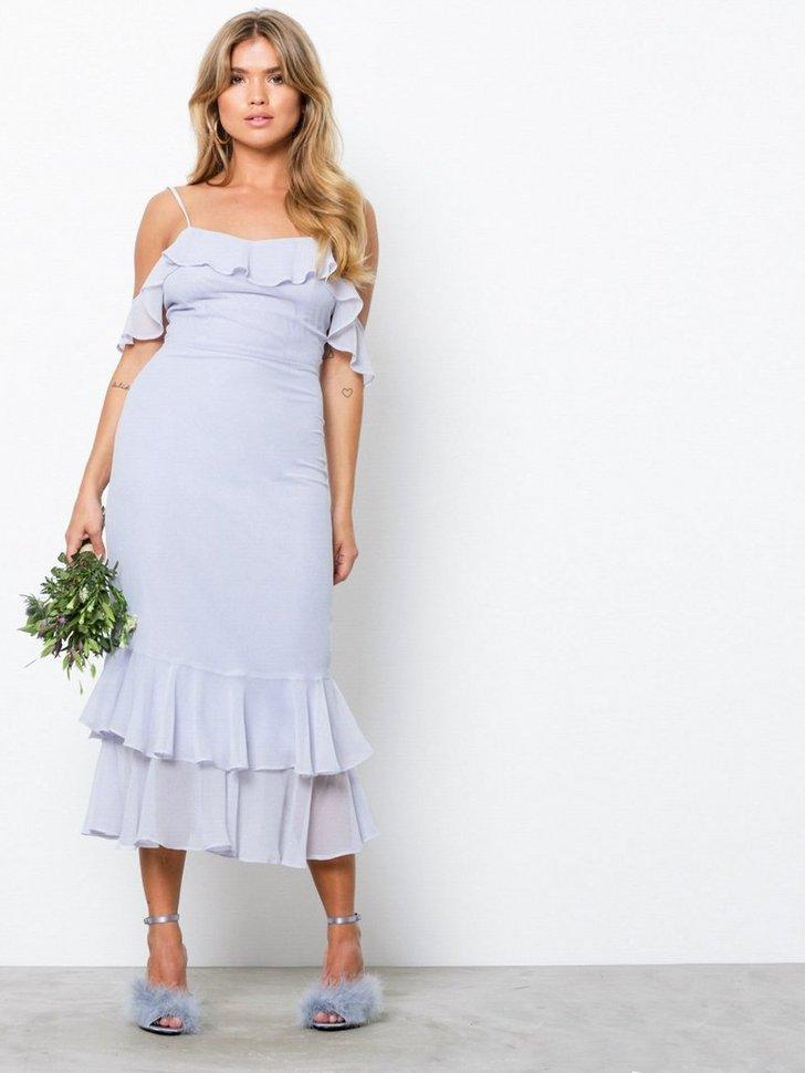 Nelly.com SE - Frill Shoulder Dress 498.00