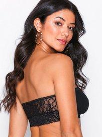 3fc965b55e449 Crazy Lace Strapless Bralette - Passionata - Black - Bras   Tops - Underwear  - Women - Nelly.com