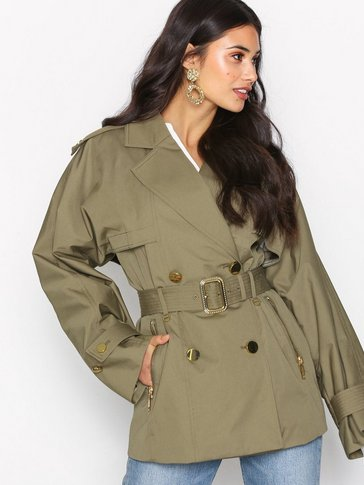 Michael Michael Kors - Short Wide Trench