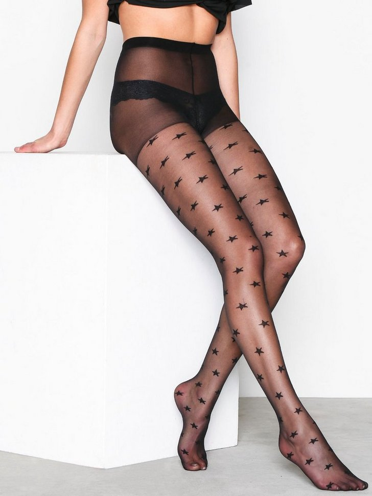 Star Print Tights
