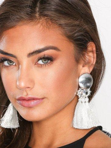 New Look - Metallic Tassel Earrings