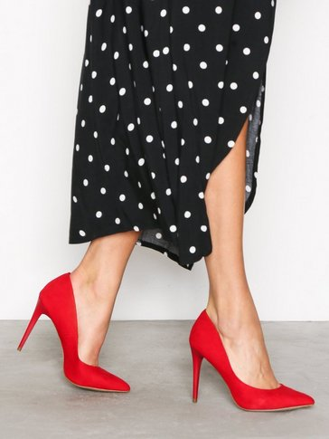 New Look - Suedette Pointed Court Heels