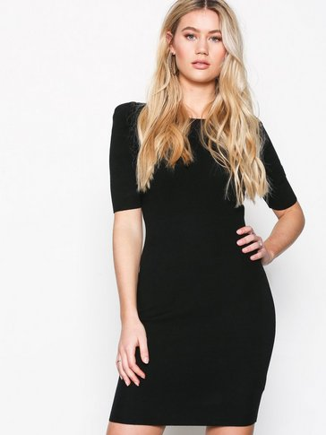 New Look - Puff Sleeve Bodycon Dress