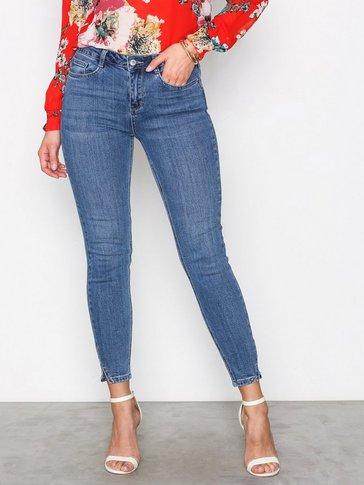 New Look - Split Hem Skinny Jenna Jeans