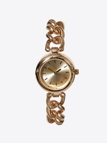 New Look - Embellished Dial Chain Strap Watch