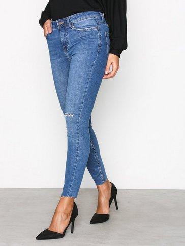 New Look - Fray Hem Skinny Jeans