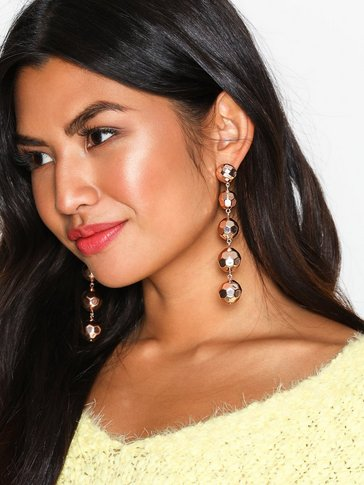 New Look - Metallic Orb Drop Earring
