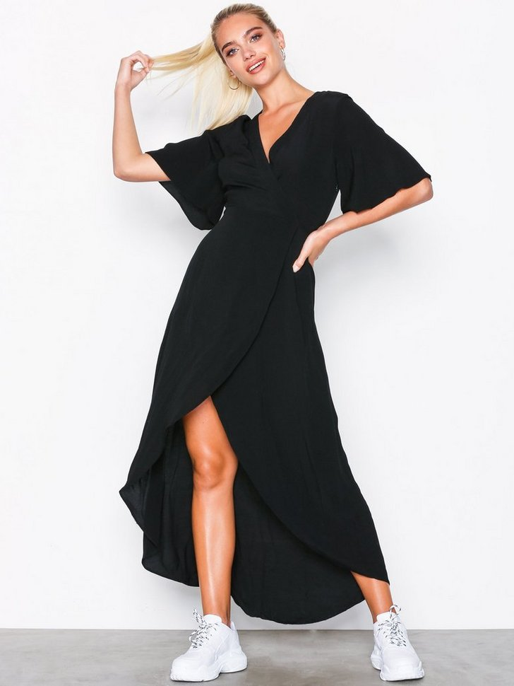 Nelly.com SE - Wrap Front Dip Hem Maxi Dress 328.00