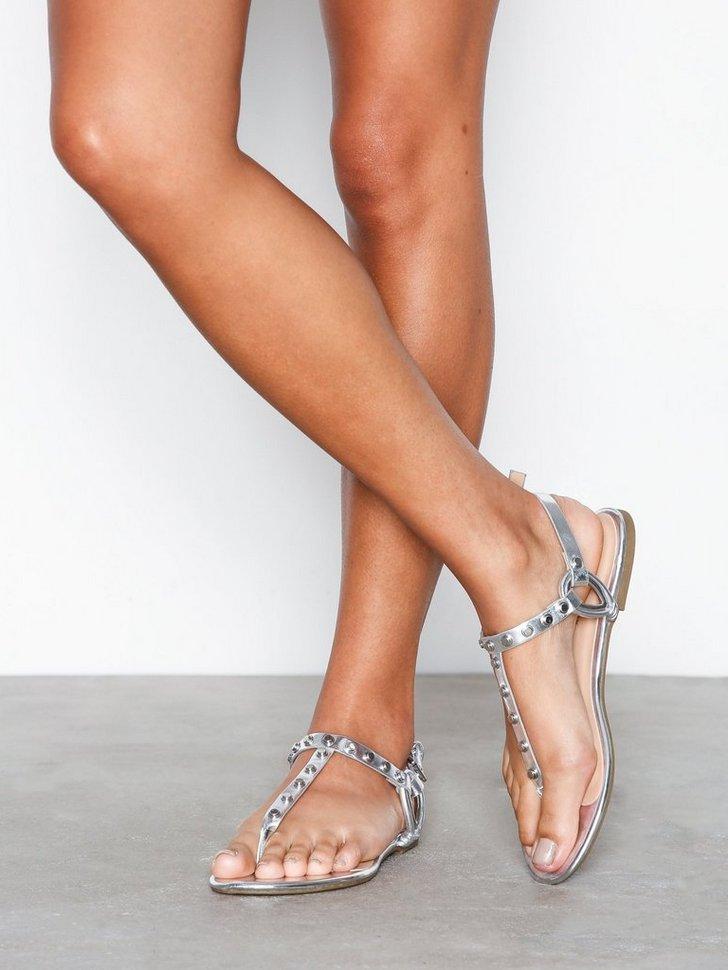 Nelly.com SE - Studded Strap Flat Sandals 248.00