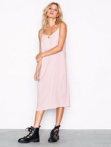 New Look - V-Neck Midi Slip Dress