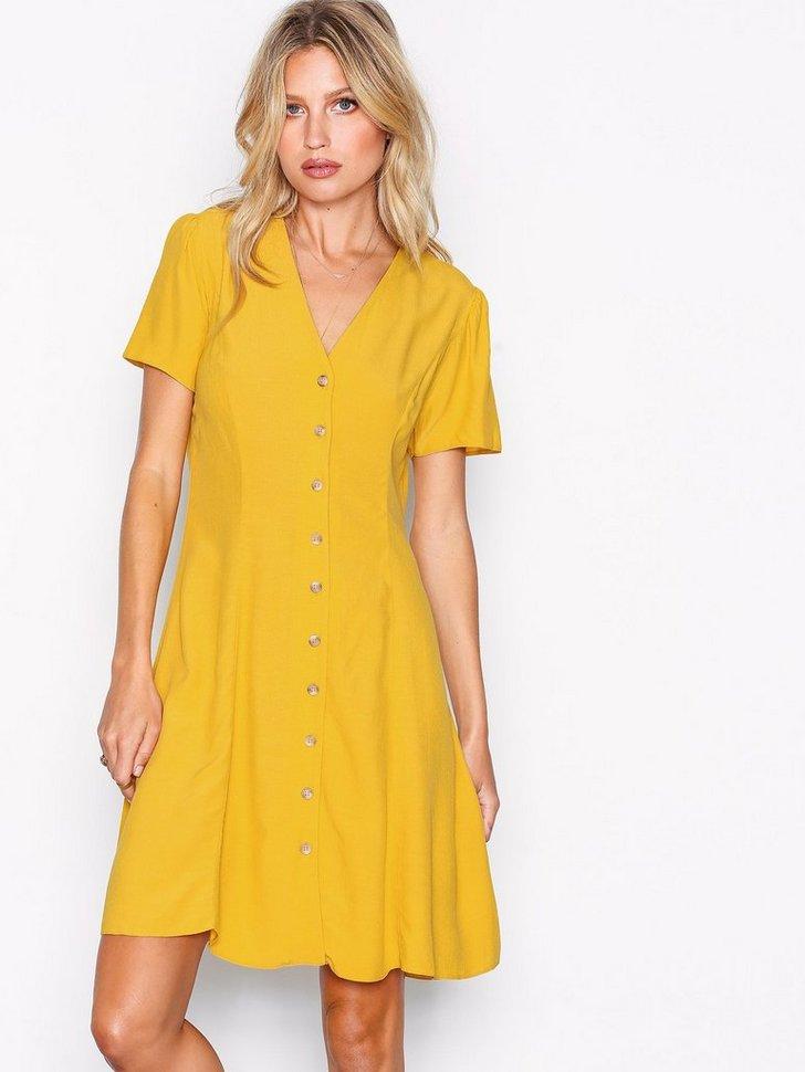 Button Front Tea Dress