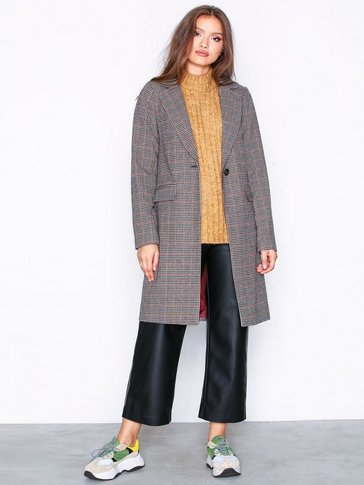 New Look - Houndstooth Check Coat