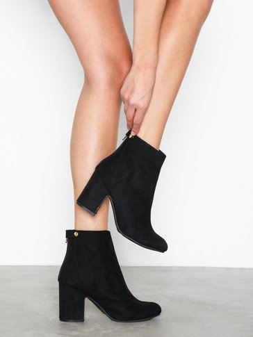 New Look - Suedette Block Heel Ankle Boots