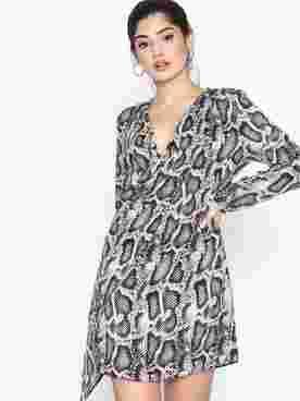 Ls Dolly Swing Dress Snake