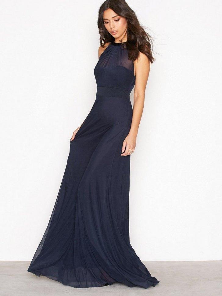 Seethrough Bow Gown køb festkjole