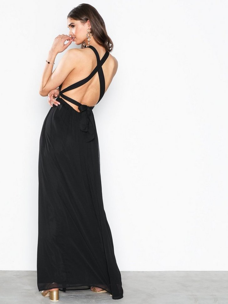Festkjoler Tied Back Gown - festtøj mode