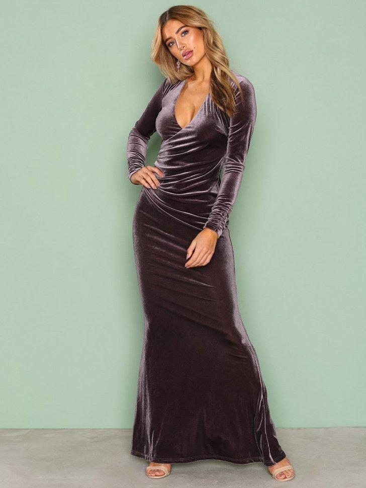 Gallakjole festkjole Velvet Mermaid Gown festtøj