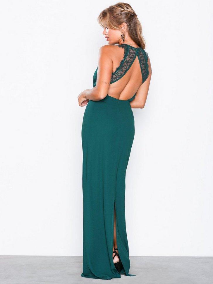 Gallakjole festkjole Maxi Crepe Gown festtøj