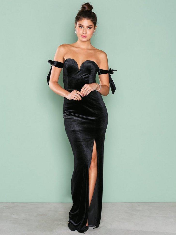 Off Shoulder Gown køb festkjole