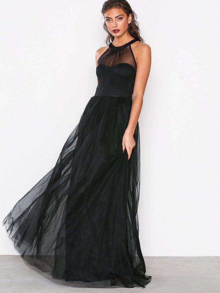 Mesh Bow Gown køb festkjole