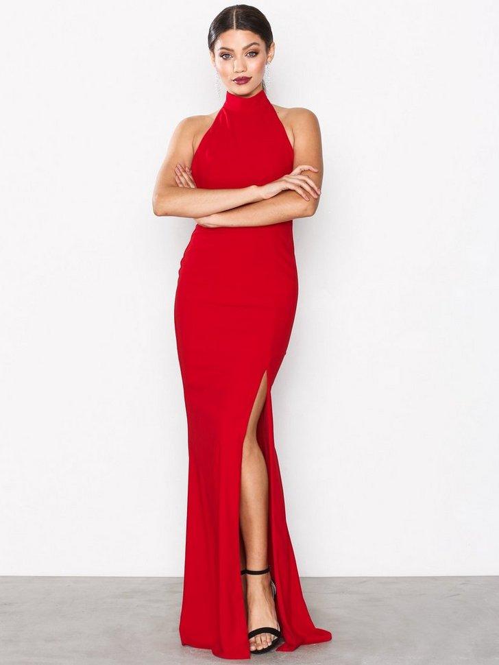 Sportscut Slit Gown køb festkjole