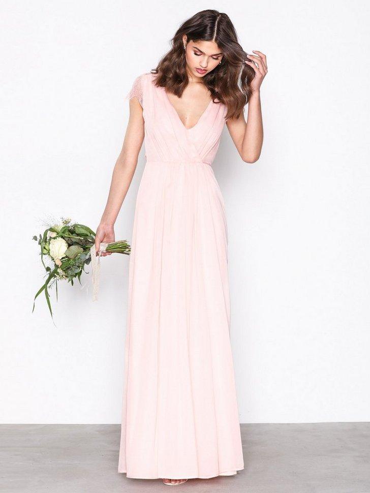 Cap Sleeve Lace Gown køb festkjole