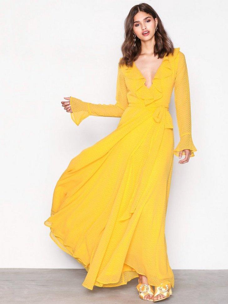 Gallakjole festkjole Deep Plunge Neckline Gown festtøj