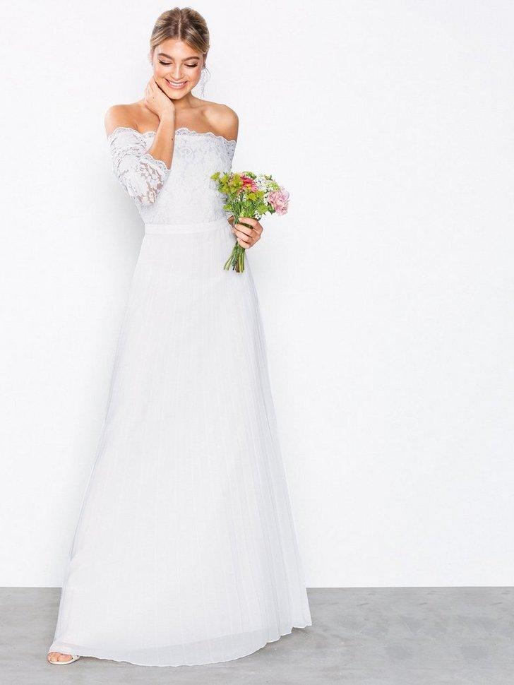 Gallakjole festkjole Off Shoulder Lace Gown festtøj