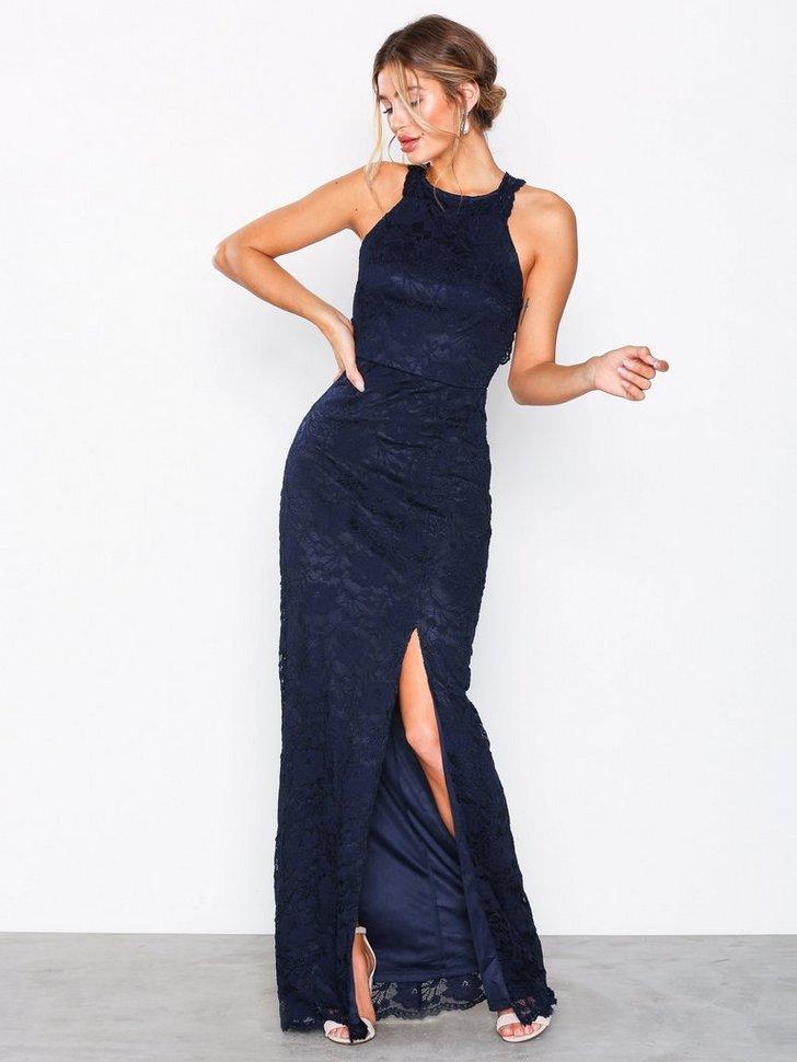 Open Back Lace Gown køb festkjole