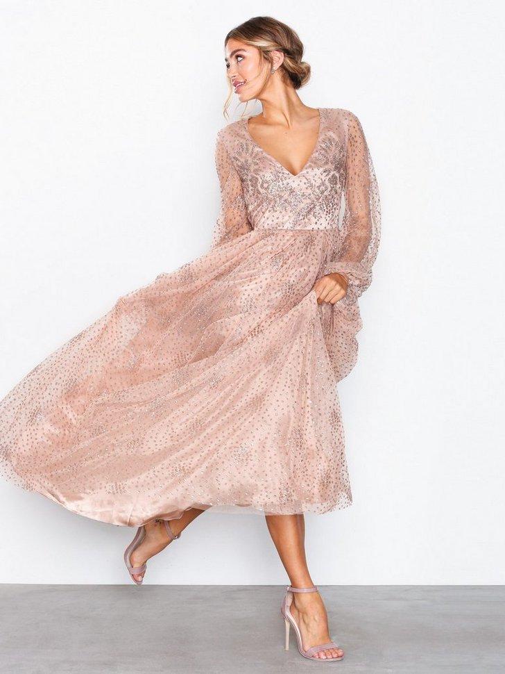 Gallakjole festkjole Sprinkle Glitter Gown festtøj