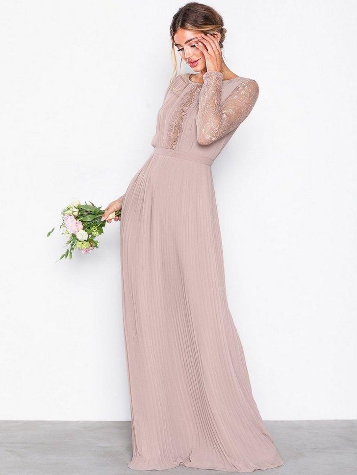 Lace Insert Gown køb festkjole