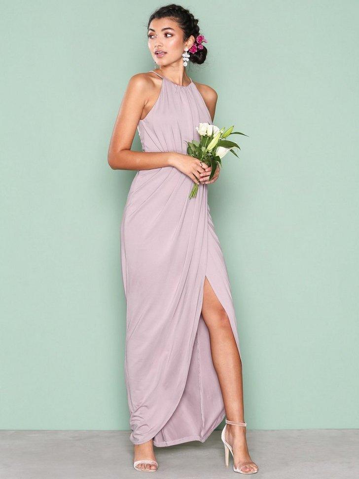 Drapy Slit Gown køb festkjole