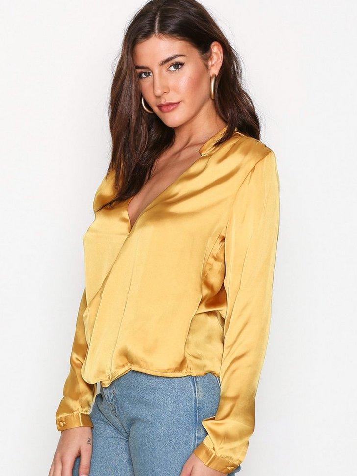 Bluser skjorter Wrap Me Blouse - festtøj mode