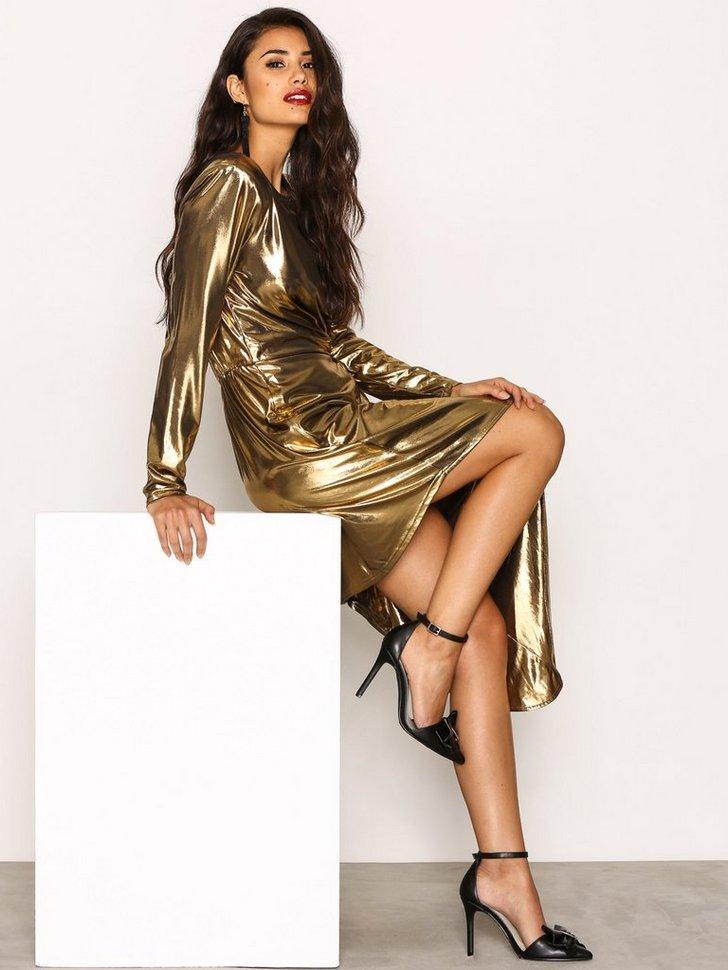 Golden Asymetric Dress