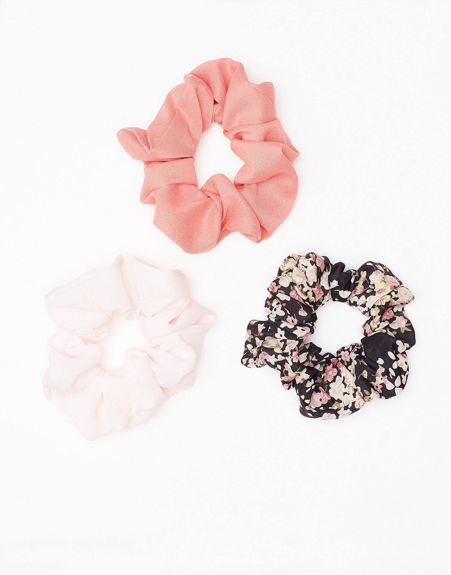 Mixed Scrunchie 3 Pack by Nly Accessories