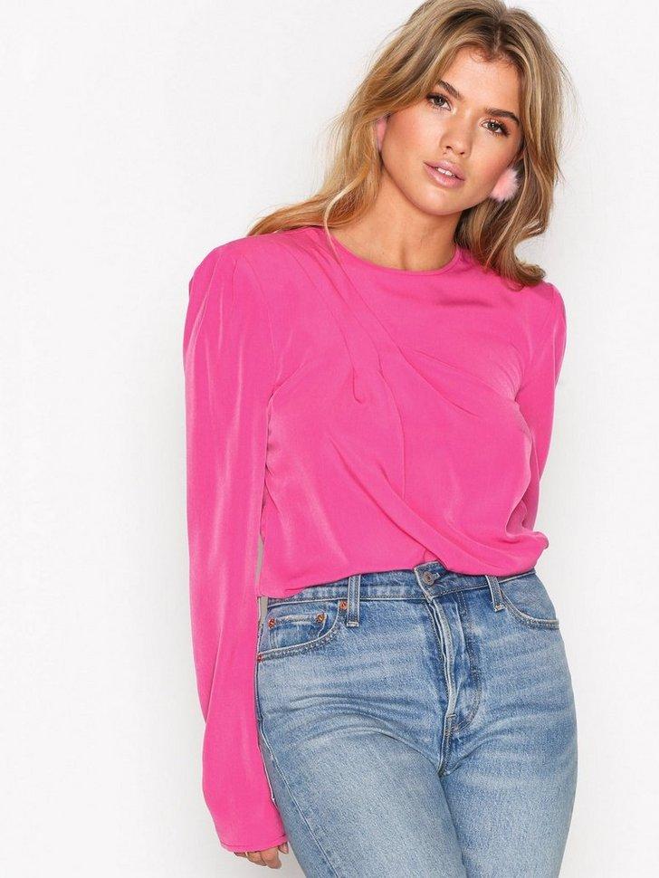Bluser skjorter Power Shoulder Blouse - festtøj mode